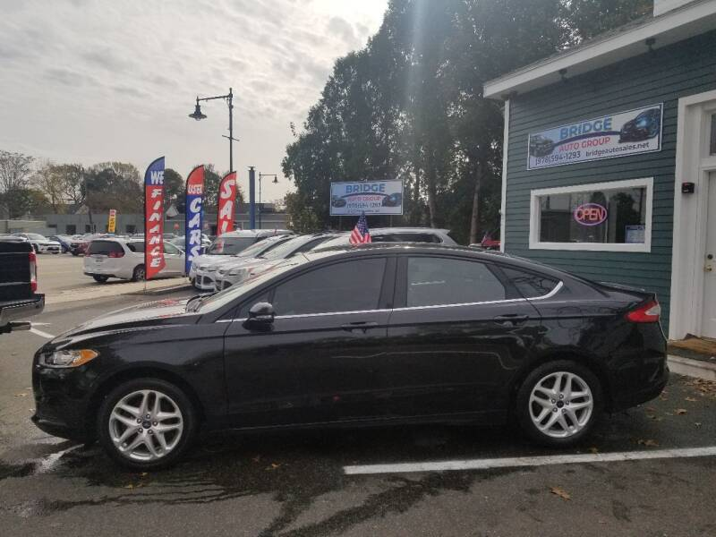 2014 Ford Fusion for sale at Bridge Auto Group Corp in Salem MA