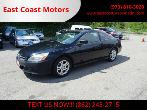 2006 Honda Accord for sale at East Coast Motors in Lake Hopatcong NJ