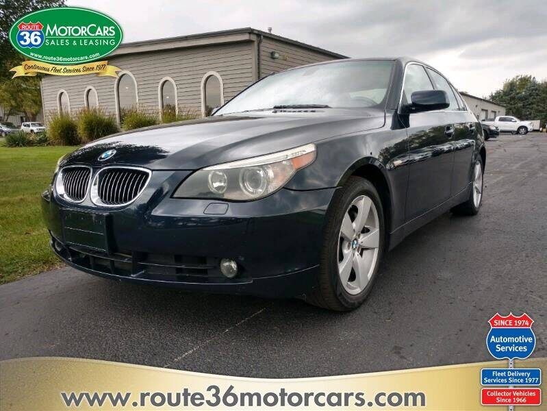 2006 BMW 5 Series for sale at ROUTE 36 MOTORCARS in Dublin OH