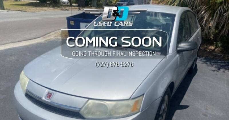 2003 Saturn Ion for sale at D & D Used Cars in New Port Richey FL