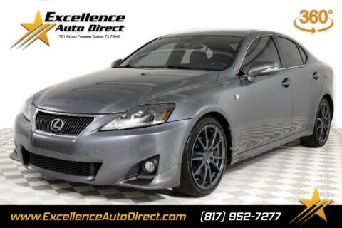 2013 Lexus IS 250 for sale at Excellence Auto Direct in Euless TX