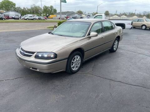 2005 Chevrolet Impala for sale at Clarks Auto Sales in Middletown OH