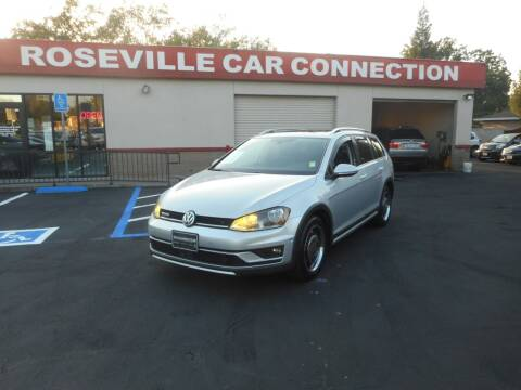 2017 Volkswagen Golf Alltrack for sale at ROSEVILLE CAR CONNECTION in Roseville CA