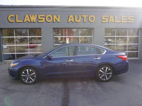 2016 Nissan Altima for sale at Clawson Auto Sales in Clawson MI