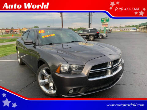 2013 Dodge Charger for sale at Auto World in Carbondale IL