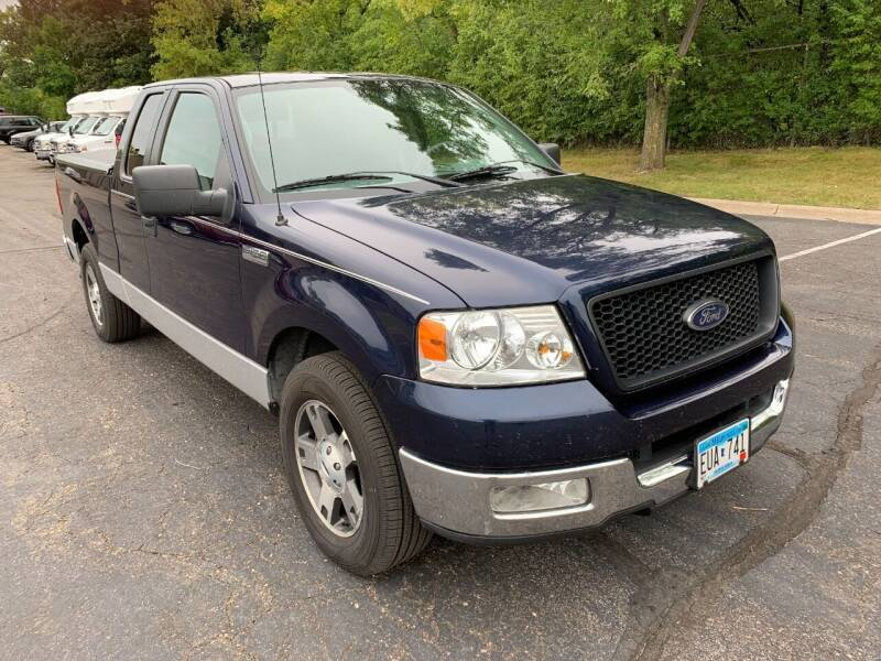 2005 Ford F-150 for sale at SYNERGY MOTOR CAR CO in Maplewood MN