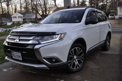 2016 Mitsubishi Outlander for sale at SOUTH AMERICA MOTORS in Sterling VA