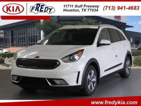 2019 Kia Niro for sale at FREDYS CARS FOR LESS in Houston TX