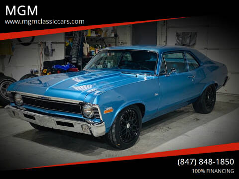 1970 Chevrolet Nova for sale at MGM CLASSIC CARS in Addison IL