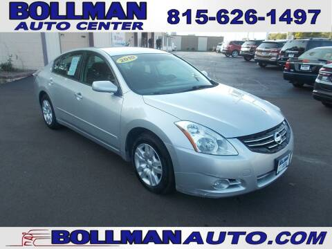 2010 Nissan Altima for sale at Bollman Auto Center in Rock Falls IL