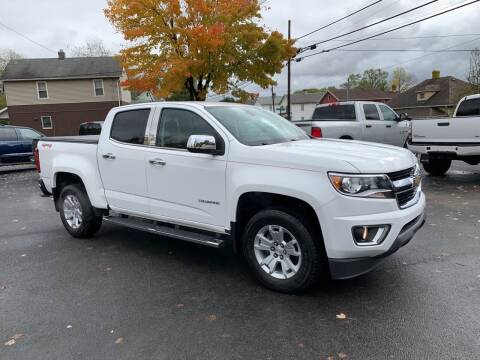 2016 Chevrolet Colorado for sale at Twin Rocks Auto Sales LLC in Uniontown PA