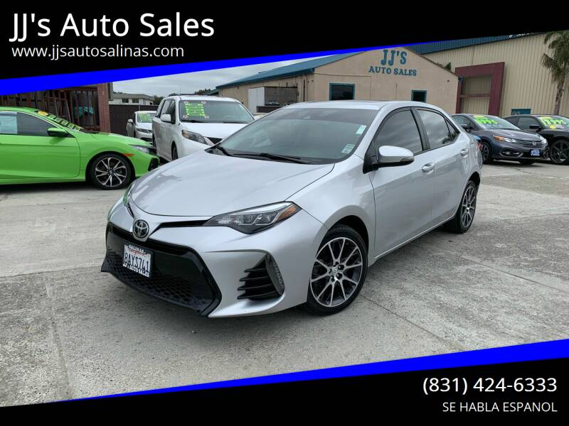 2017 Toyota Corolla for sale at JJ's Auto Sales in Salinas CA