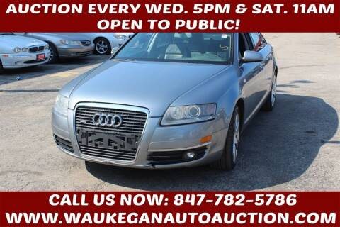 2007 Audi A6 for sale at Waukegan Auto Auction in Waukegan IL