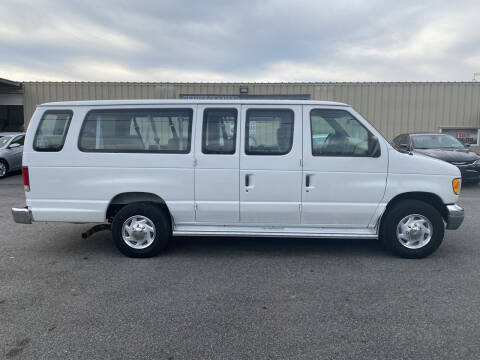 1997 Ford E-350 for sale at Stikeleather Auto Sales in Taylorsville NC