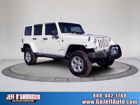 2015 Jeep Wrangler Unlimited for sale at Jeff D'Ambrosio Auto Group in Downingtown PA
