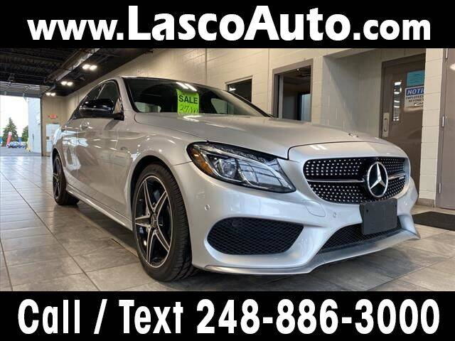 2017 Mercedes-Benz C-Class for sale at Lasco of Waterford in Waterford MI