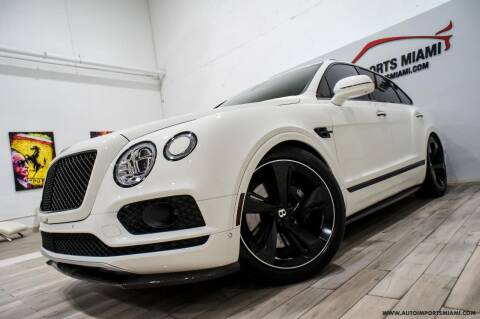 2018 Bentley Bentayga for sale at AUTO IMPORTS MIAMI in Fort Lauderdale FL