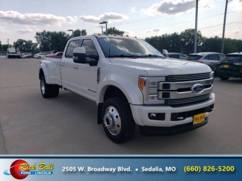 2018 Ford F-450 Super Duty for sale at RICK BALL FORD in Sedalia MO