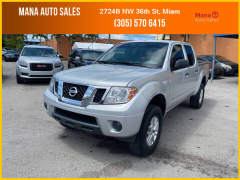 2014 Nissan Frontier for sale at MANA AUTO SALES in Miami FL
