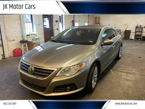 2010 Volkswagen CC for sale at JK Motor Cars in Pittsburgh PA