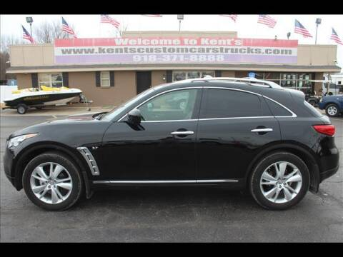 2016 Infiniti QX70 for sale at Kents Custom Cars and Trucks in Collinsville OK