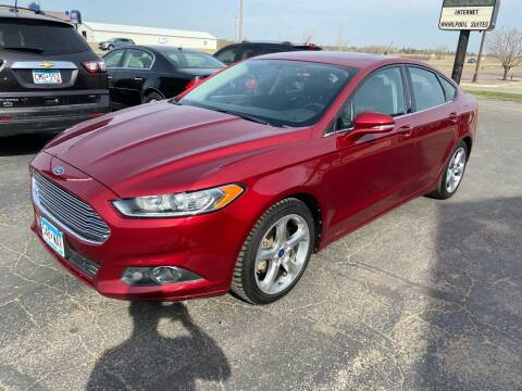 2013 Ford Fusion for sale at Hill Motors in Ortonville MN