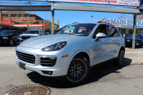 2018 Porsche Cayenne for sale at MIKEY AUTO INC in Hollis NY