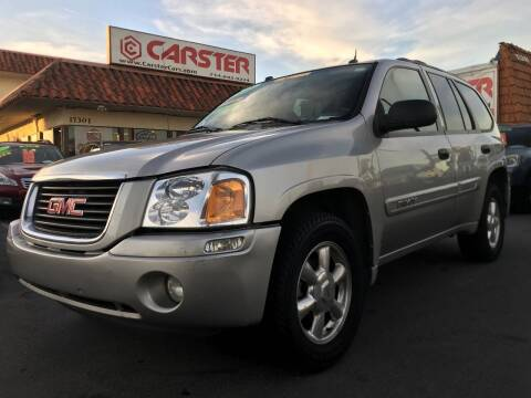 2005 GMC Envoy for sale at CARSTER in Huntington Beach CA