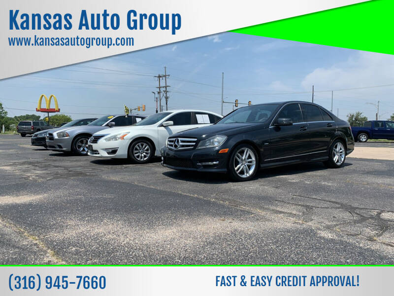 2012 Mercedes-Benz C-Class for sale at Kansas Auto Group in Wichita KS