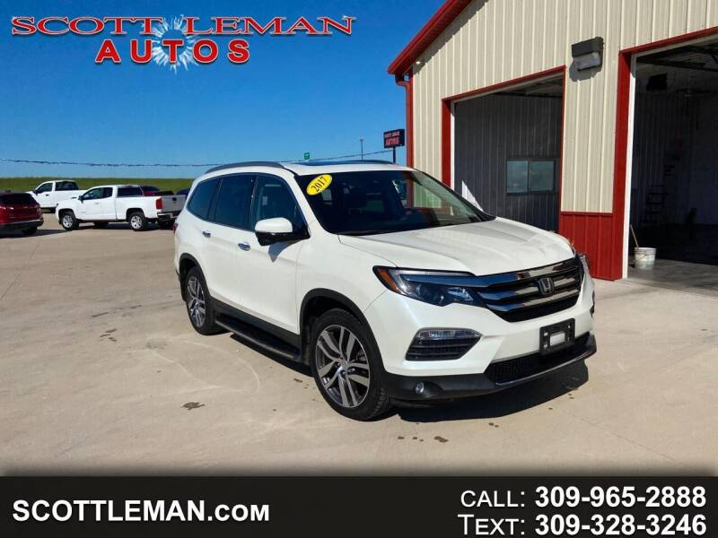 2017 Honda Pilot for sale at SCOTT LEMAN AUTOS in Goodfield IL