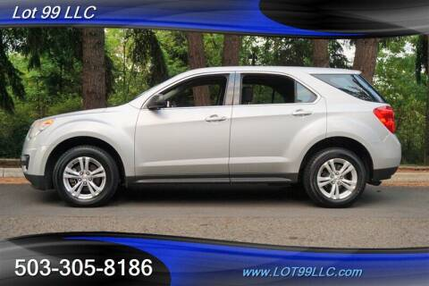 2011 Chevrolet Equinox for sale at LOT 99 LLC in Milwaukie OR
