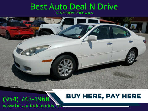 2004 Lexus ES 330 for sale at Best Auto Deal N Drive in Hollywood FL