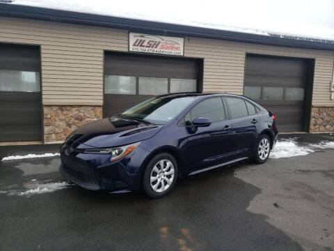 2020 Toyota Corolla for sale at Ulsh Auto Sales Inc. in Summit Station PA