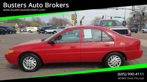 1998 Ford Escort for sale at Busters Auto Brokers in Mitchell SD