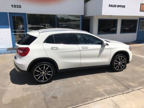 2017 Mercedes-Benz GLA for sale at Moye's Auto Sales Inc. in Leesburg FL
