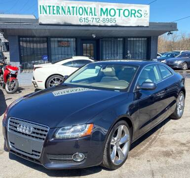 2012 Audi A5 for sale at International Motors Inc. in Nashville TN