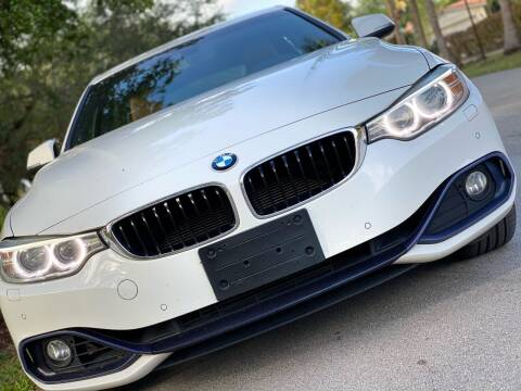 2016 BMW 4 Series for sale at HIGH PERFORMANCE MOTORS in Hollywood FL