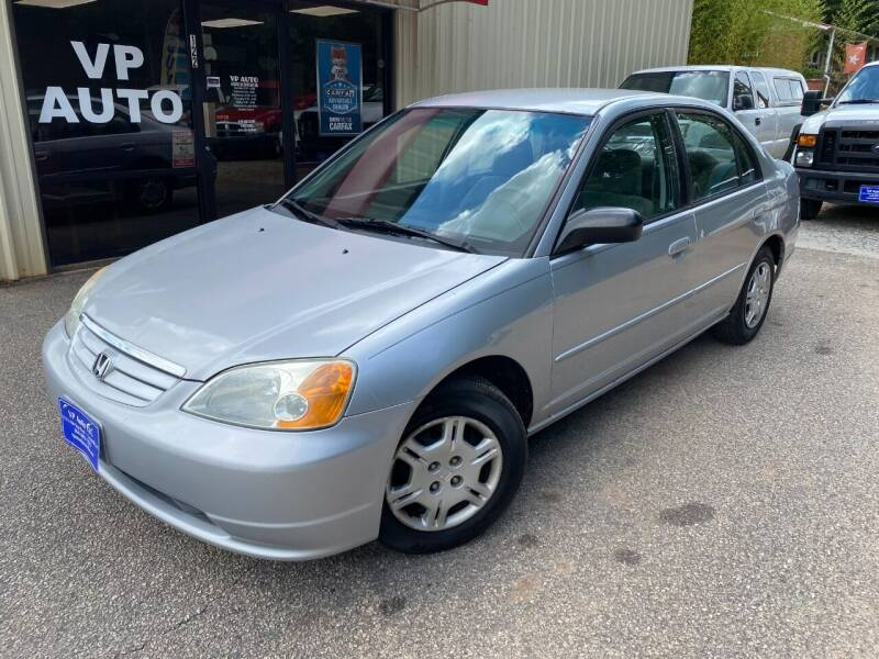 2002 Honda Civic for sale at VP Auto in Greenville SC