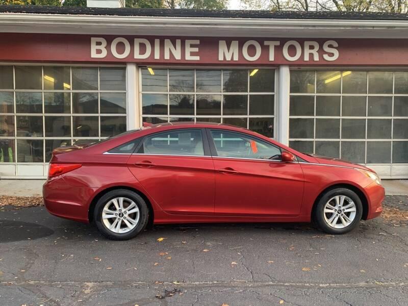 2013 Hyundai Sonata for sale at BODINE MOTORS in Waverly NY