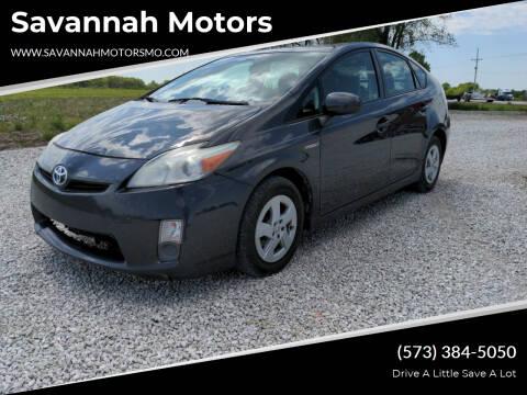 2010 Toyota Prius for sale at Savannah Motors in Elsberry MO