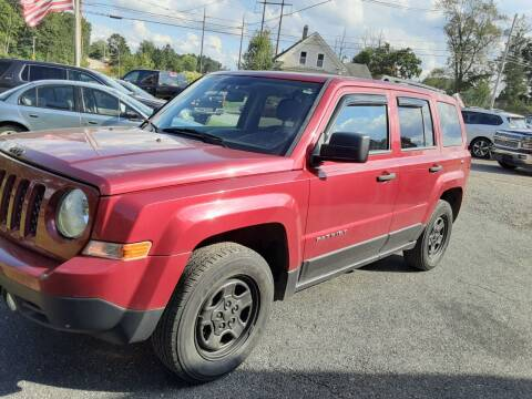 2014 Jeep Patriot for sale at Cappy's Automotive in Whitinsville MA
