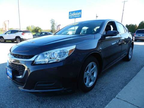 2015 Chevrolet Malibu for sale at Leitheiser Car Company in West Bend WI