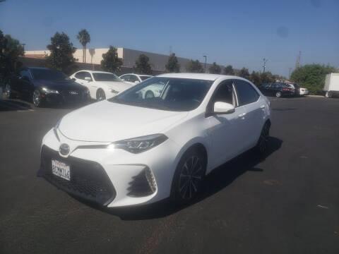 2018 Toyota Corolla for sale at Auto Facil Club in Orange CA