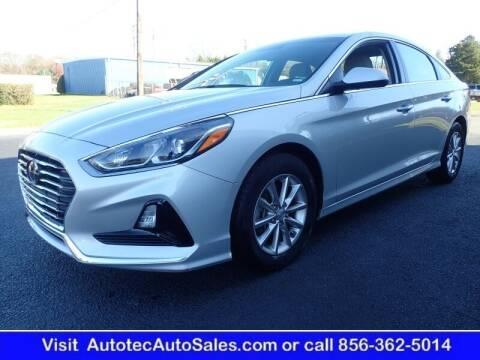 2019 Hyundai Sonata for sale at Autotec Auto Sales in Vineland NJ
