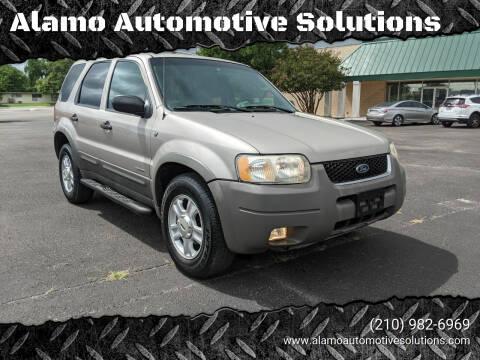 2001 Ford Escape for sale at Alamo Automotive Solutions in San Antonio TX