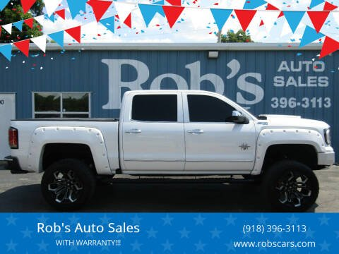 2018 GMC Sierra 1500 for sale at Rob's Auto Sales - Robs Auto Sales in Skiatook OK