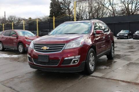2017 Chevrolet Traverse for sale at F & M AUTO SALES in Detroit MI