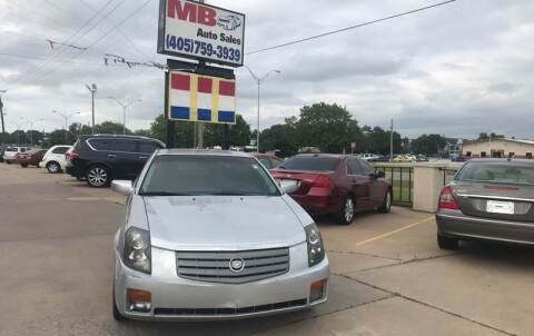 2006 Cadillac CTS for sale at MB Auto Sales in Oklahoma City OK
