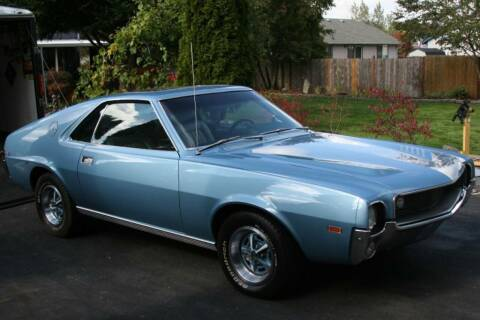 1969 AMC AMX for sale at NJ Enterprises in Indianapolis IN