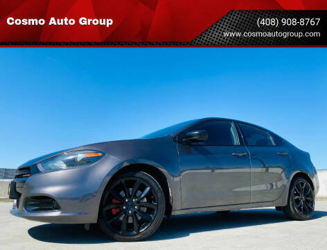 2016 Dodge Dart for sale at Cosmo Auto Group in San Jose CA